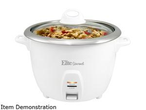 Elite Platinum ERC-2020 4Qt. Electric Stainless Steel Pressure Cooker with 9 Functions, White