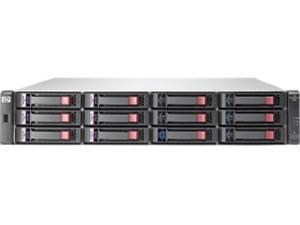 HP P2000 G3 SAS MSA Dual Controller SFF Array System-AW594SB