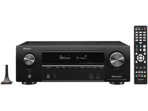 Denon AVR-X1600H 7.2-Channel 4K Ultra HD AV Receiver with 3D Audio and HEOS Built-In