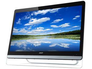"Acer UT220HQL Tbmjz Black 21.5"" Touchscreen Monitor Multi-Touch Widescreen 8ms DVI HDMI MHL USB hub Built-in Speakers"