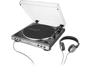 AUDIO TECHNICA AT-LP60XHP-GM FULLY AUTOMATIC BELT-DRIVE