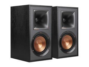 Klipsch R-41M Reference Bass-Reflex Design Bookshelf Speakers - Black (Pair)