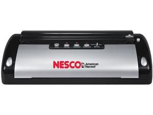 NESCO VS-02 110-Watt Automatic Vacuum Sealer, Black