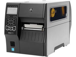 """Zebra ZT410 4"""" Industrial Thermal Transfer Label Printer, LCD, 300 dpi, Serial, USB, 10/100 Ethernet, Bluetooth 2.1/MFi, USB Host, EZPL, XML Support, US Cord - ZT41043-T010000Z"""