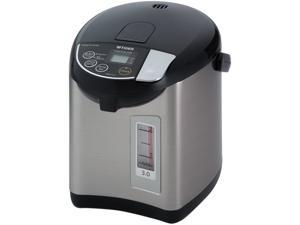 Tiger PDU-A30U-K 3.0-Liter Electric Water Boiler and Warmer, Stainless, Black