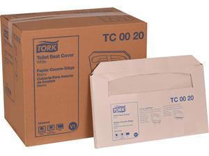 """Toilet Seat Cover, 14.5"""" x 17"""", White, 20/Carton TC0020"""