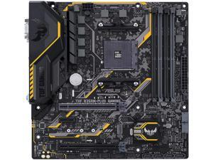 ASUS TUF B350M-PLUS GAMING AM4 AMD B350 SATA 6Gb/s Micro ATX AMD Motherboard