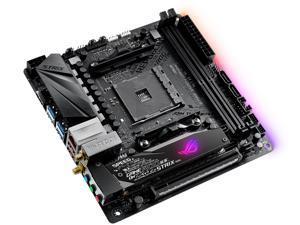 ASUS ROG Strix X470-I Gaming AM4 AMD X470 SATA 6Gb/s USB 3.1 HDMI Mini ITX AMD Motherboard