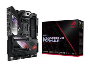 ASUS ROG Crosshair VIII Formula AMD X570 AM4 ATX Motherboard with PCIe 4.0, Dual M.2, SATA 6Gb/s, USB 3.2 Gen 2, 5Gbps LAN, Wi-Fi 6