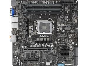 ASUS WS C246M PRO uATX Server Motherboard LGA 1151 Intel C246