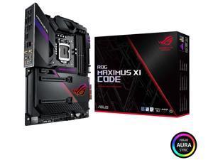 ASUS ROG Maximus XI Code Z390 Gaming Motherboard LGA1151 (Intel 8th and 9th Gen) ATX DDR4 HDMI M.2 USB 3.1 Gen2 Onboard 802.11 ac Wi-Fi