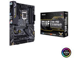 ASUS TUF Z390-Pro Gaming Motherboard LGA1151 (Intel 8th and 9th Gen) ATX DDR4 HDMI M.2 USB 3.1 Gen2 Gigabit LAN