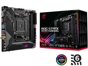 ASUS ROG Strix X570-I Gaming AM4 AMD X570 SATA 6Gb/s Mini ITX AMD Motherboard