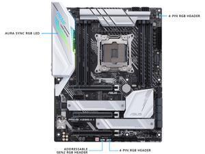 ASUS Prime X299-A II LGA 2066 Intel X299 SATA 6Gb/s ATX Intel Motherboard