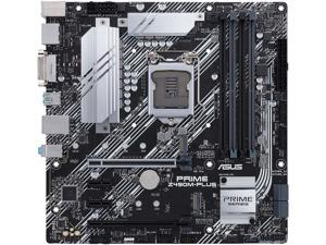 ASUS PRIME Z490M-PLUS LGA 1200 Intel Z490 SATA 6Gb/s Micro ATX Intel Motherboard