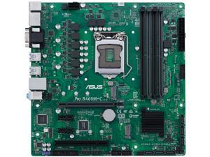 ASUS PRO B460M-C/CSM LGA 1200 Intel B460 SATA 6Gb/s Micro ATX Intel Motherboard