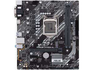 ASUS PRIME H410M-A/CSM LGA 1200 Intel H410 SATA 6Gb/s Micro ATX Intel Motherboard
