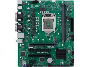 ASUS PRO H410M-C/CSM LGA 1200 Intel H410 SATA 6Gb/s Micro ATX Intel Motherboard