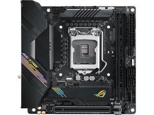 ASUS ROG STRIX H470-I GAMING LGA 1200 Intel H470 SATA 6Gb/s Mini ITX Intel Motherboard