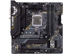 ASUS TUF GAMING B460M-PLUS (WI-FI) LGA 1200 Intel B460 SATA 6Gb/s Micro ATX Intel Motherboard