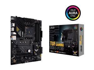 ASUS TUF GAMING B550-PLUS AMD AM4 (3rd Gen Ryzen) ATX Gaming Motherboard (PCIe 4.0, 2.5Gb LAN, HDMI 2.1, BIOS FlashBack, USB 3.2 Gen 2, Addressable Gen 2 RGB Header and AURA Sync)