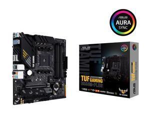 ASUS TUF GAMING B550M-PLUS AMD AM4 (3rd Gen Ryzen) Micro ATX Gaming Motherboard (PCIe 4.0, 2.5Gb LAN, BIOS FlashBack, HDMI 2.1, USB 3.2 Gen 2, Addressable Gen 2 RGB Header and AURA Sync)