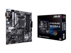 ASUS Prime B550M-A/CSM AMD AM4 (3rd Gen Ryzen) microATX Commercial Motherboard (PCIe 4.0, ECC Memory, 1Gb LAN, HDMI 2.1/D-Sub, 4K@60HZ, TPM, ASUS Control Center Express)