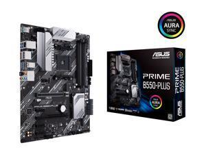 ASUS PRIME B550-PLUS AM4 AMD B550 SATA 6Gb/s ATX AMD Motherboard