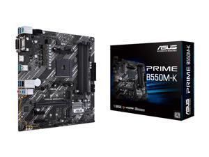 ASUS PRIME B550M-K AM4 AMD B550 SATA 6Gb/s Micro ATX AMD Motherboard