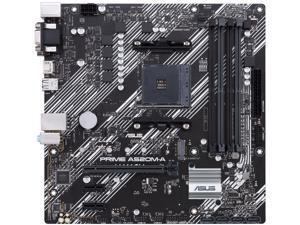 ASUS PRIME A520M-A/CSM AM4 AMD A520 SATA 6Gb/s Micro ATX AMD Motherboard