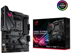ASUS ROG STRIX B450-F GAMING II AM4 AMD B450 SATA 6Gb/s ATX AMD Motherboard