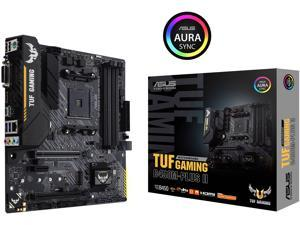 ASUS TUF GAMING B450M-PLUS II AM4 AMD B450 SATA 6Gb/s Micro ATX AMD Motherboard