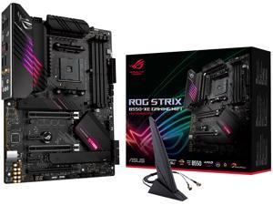 ASUS ROG Strix B550-XE Gaming WiFi AMD AM4 (Zen 3/3rd Gen Ryzen) ATX Gaming Motherboard (PCIe 4.0, WiFi 6, 2.5Gb LAN, 16 (90A) Power Stages, Bundled ASUS Hyper M.2 x16 Gen 4 Card, Addressable Gen 2 RG
