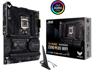 ASUS TUF GAMING Z590-PLUS WIFI LGA 1200 Intel Z590 SATA 6Gb/s ATX Intel Motherboard