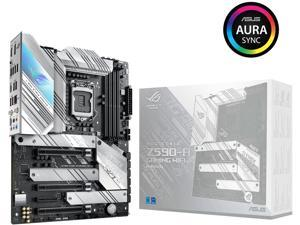 ASUS ROG STRIX Z590-A GAMING WIFI LGA 1200 Intel Z590 SATA 6Gb/s ATX Intel Motherboard