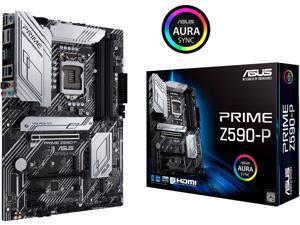 ASUS PRIME Z590-P LGA 1200 Intel Z590 SATA 6Gb/s ATX Intel Motherboard