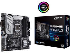 ASUS PRIME Z590M-PLUS LGA 1200 Intel Z590 SATA 6Gb/s Micro ATX Intel Motherboard