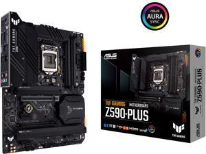 ASUS TUF GAMING Z590-PLUS LGA 1200 Intel Z590 ATX Intel Motherboard