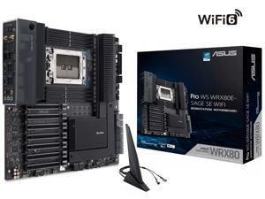ASUS Pro WS WRX80E-SAGE SE WIFI sWRX8 AMD WRX80 SATA 6Gb/s Extended ATX AMD Motherboard