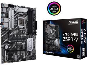 ASUS PRIME Z590-V LGA 1200 Intel Z590 SATA 6Gb/s ATX Intel Motherboard