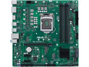 ASUS PRO Q570M-C/CSM LGA 1200 Intel Q570 SATA 6Gb/s Micro ATX Intel Motherboard