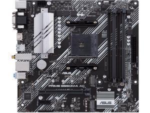 ASUS PRIME B550M-A AC AM4 AMD B550 SATA 6Gb/s Micro ATX AMD Motherboard
