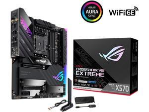 ASUS ROG CROSSHAIR VIII EXTREME AM4 AMD X570 SATA 6Gb/s Extended ATX AMD Motherboard