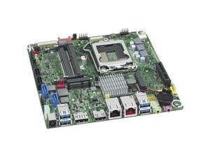 Intel Executive DQ77KB Desktop Motherboard - Intel Q77 Express Chipset - Socket H2 LGA-1155 - 10 x Bulk Pack