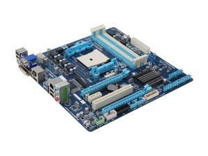 GIGABYTE GA-F2A75M-D3H FM2 AMD A75 (Hudson D3) SATA 6Gb/s USB 3.0 HDMI Micro ATX AMD Motherboard