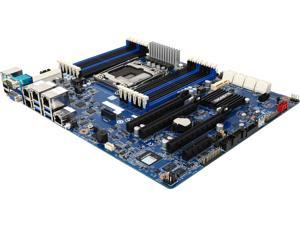 GIGABYTE MU70-SU0 ATX Server Motherboard Mounting pitch: narrow ILM (56 x 94 mm)  Recommended cooling device dimension: 70 x 106 mm  Max. length of M4 screw threads: 3.7 mm  Screws longer than 3.7 mm