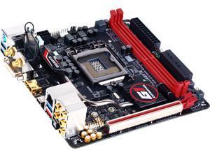 GIGABYTE G1 Gaming GA-Z170N-Gaming 5 (rev. 1.0) LGA 1151 Intel Z170 HDMI SATA 6Gb/s USB 3.1 USB 3.0 Mini ITX Intel Motherboard