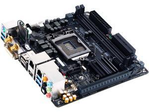 GIGABYTE GA-Z170N-WIFI (rev. 1.0) LGA 1151 Intel Z170 HDMI SATA 6Gb/s USB 3.0 Mini ITX Intel Motherboard