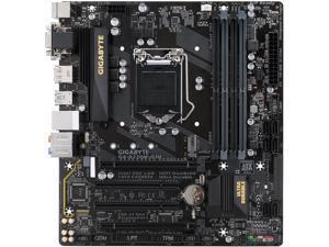 GIGABYTE GA-B250M-D3H (rev. 1.0) LGA 1151 Intel B250 HDMI SATA 6Gb/s USB 3.1 Motherboards - Intel