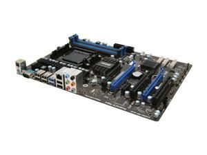 MSI 970A-G45 AM3+ AMD 970 SATA 6Gb/s USB 3.0 ATX AMD Motherboard